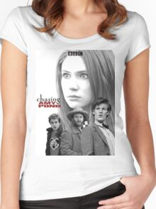 Chasing Amy Pond Women's Fitted Scoop T-Shirt