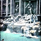 Trevi Fountain - Rome 1968 by pennyswork