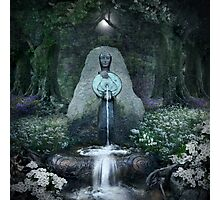 Beltane: Lady of the Sacred Well  Photographic Print