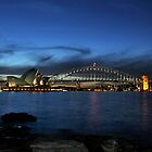 Blue Sydney Twilight by Ian Berry