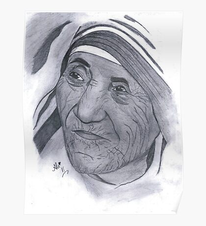 Mother Teresa and Mother's Day Poster