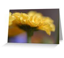 Yellow Dreams Greeting Card