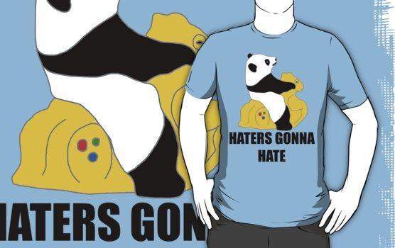 Haters Gonna Hate: Panda by Krydel