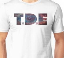 TDE TOP DAWG BLUE PURPLE RED NEBULA Unisex T-Shirt