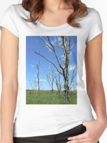 Remnants of a Forest Women's Fitted Scoop T-Shirt