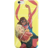 Kamala and Carol iPhone Case/Skin
