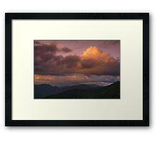 Appalachian Blues Framed Print