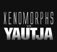 Xenomorphs vs. Yautja by DouglasFir