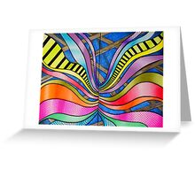 SOFT CONSTRUCTION Greeting Card