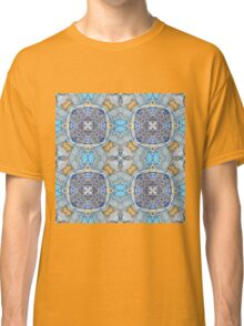 blue pattern Classic T-Shirt