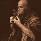 ancient ways, sacred smoke... by Allan  Erickson
