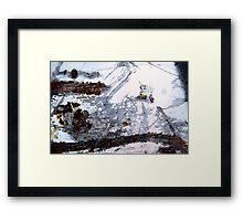 Rusty Snowstorm Framed Print