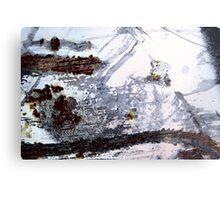 Rusty Snowstorm Metal Print