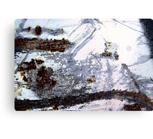 Rusty Snowstorm Canvas Print