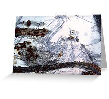 Rusty Snowstorm Greeting Card