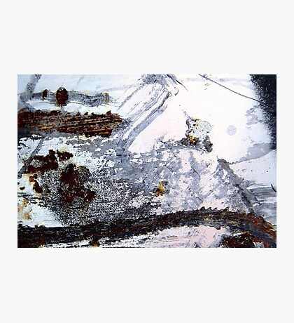 Rusty Snowstorm Photographic Print