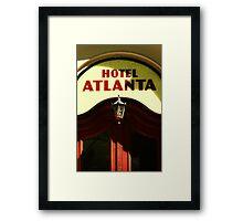 Hotel Atlanta Framed Print