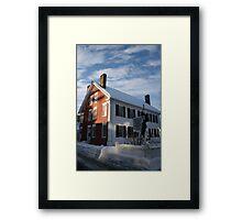 Woodstock History Center - Woodstock, VT  Framed Print