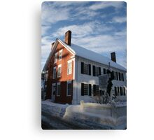 Woodstock History Center - Woodstock, VT  Canvas Print