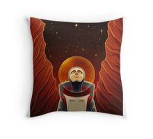 I Am Completely Alone Here Throw Pillow