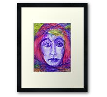 Rope, Barbed Wire and Acceptance Framed Print