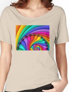 Rainbow Stitchery Women's Relaxed Fit T-Shirt