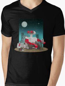 ROB-E! Mens V-Neck T-Shirt