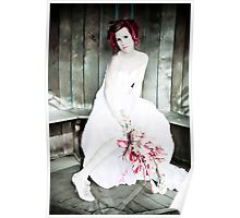 Autumn Bride Punked up Poster