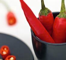 Chili Pepper by Sviatlana Kandybovich