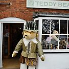 Tudor Teddy Outside his Shop by Stephen Frost
