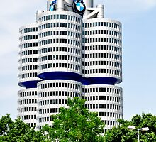 BMW Building Munich Germany by Daidalos