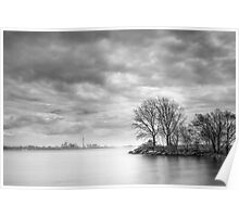 View from Humber Bay Park Poster