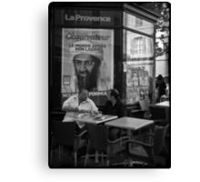 """Ben Laden"" Canvas Print"