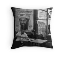 """Ben Laden"" Throw Pillow"