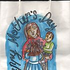 Mother's Day gift bag by Penny Hetherington
