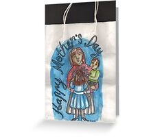 Mother's Day gift bag Greeting Card