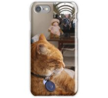 Remi relaxes here too.  iPhone Case/Skin