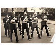 Marching in time Poster