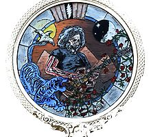 "Grateful Dead Jerry Garcia ""Mountains of the Moon""  by john michael  barone"