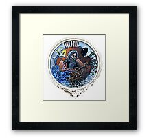 """Grateful Dead Jerry Garcia """"Mountains of the Moon""""  Framed Print"""