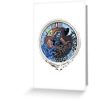 "Grateful Dead Jerry Garcia ""Mountains of the Moon""  Greeting Card"