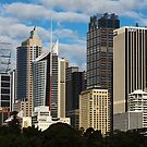 Sydney Skyline by Peter Tachauer