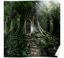 Doorway to Lothlorien Poster