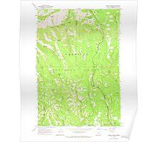 USGS Topo Map Oregon Andies Prairie 278842 1963 24000 Poster