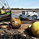 Maldon Quayside by Peter Tachauer