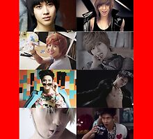 SHINee Lee Taemin Over the Years Collage by Cheonsa