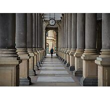 Mill colonnade in Karlovy Vary Photographic Print