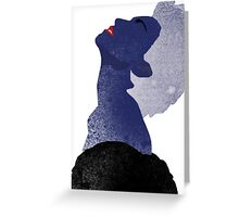 True Blue for You. Greeting Card