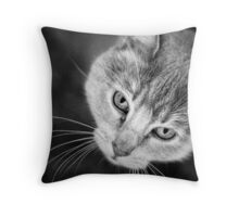 Watchful Companion Throw Pillow