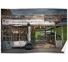 Better Car Care, no longer in Business Poster
